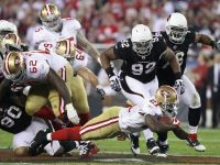 49ers Rout Cardinals But Lose Gore For Season; Anderson Freaks