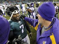 Brett Favre To Be Michael Vick's Backup In Philly?