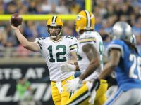 Green Bay quarterback Aaron Rodgers sets second NFL record this season