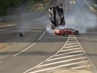 Anthony Davidson's Huge Crash at Le Mans