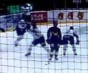 """Former NHL player Deveaux attacks opponent in warm-up and calls it """"Self Defence"""""""