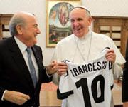 The Pope and Interpol reject FIFA cash