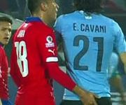 Chilean player booted out of Copa America for fingering opponent's rear end