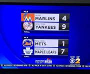 Chicago Bears win Stanley Cup and Maple Leafs beat the Mets
