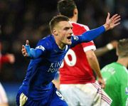 Leicester City's Jamie Vardy sets English Premier League scoring record