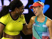 Serena Williams upset by Angelique Kerber at Australian Open