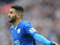 Winger Riyad Mahrez of Leicester named English Premier League's player of year